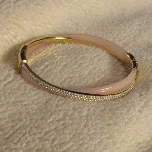 Michael Kors two toned hinged bracelet. NWT